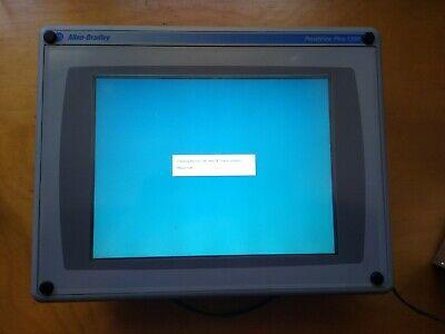 Allen Bradley Panelview Plus 6 1250 2711p-rp1 Rdt12h High Brightness Touch Hmi