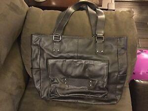 Leather Danier Shoulder Bag