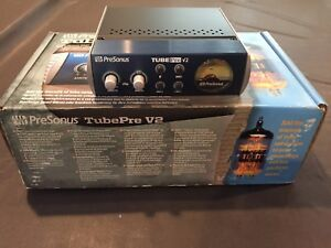 PreSonus TubePre V2 Compact Single-channel Mic Preamplifier