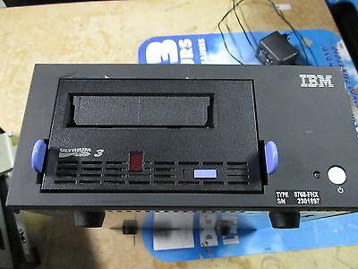 IBM 8768FHX LTO-3 LTO3 External FH Desktop LVD Tape Drive Enclosure SCSI