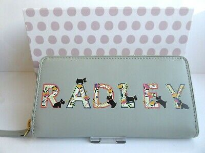 Radley Gift Boxed Leather Purse BNWT RRP £89 & Dust Bag