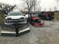 Snow Removal/Plowing  *FULLY INSURED*  seasonal rates available