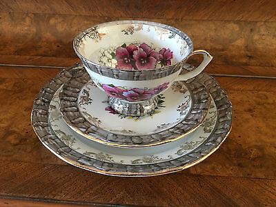 Tee Set 3 teilig Porzellan Poland Handgemacht Vintage