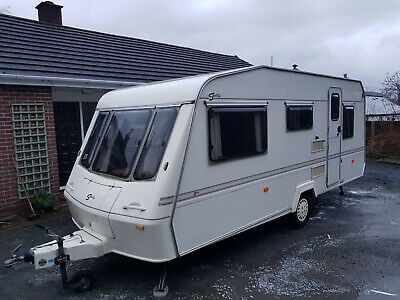 Elddis Crown Sceptre 5 Berth Touring Caravan 1998 for sale  Llangollen