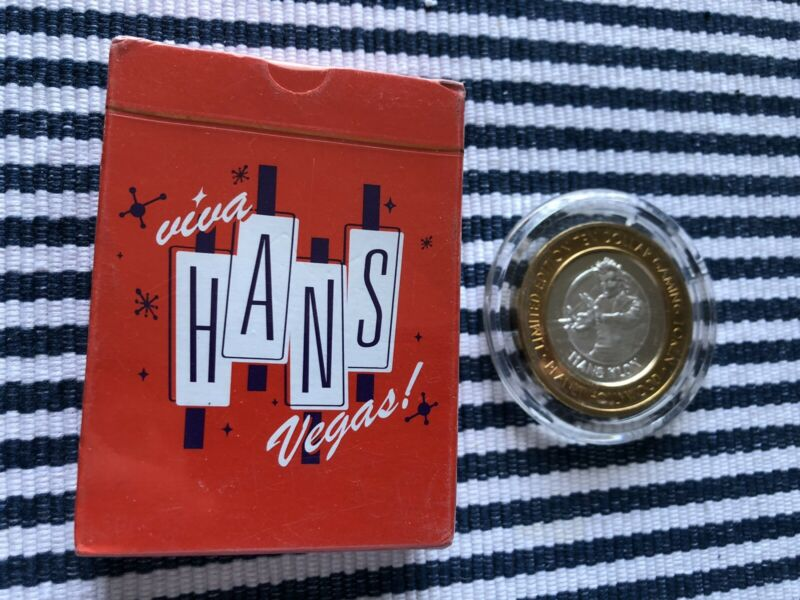 Hans Klok Collection - Cards, Silver Strike Token And Magazines