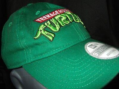 New Era 9TWENTY Teenage Mutant Ninja Turtles Nickelodeon TMNT Strapback Hat 920 ()