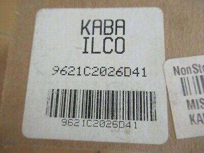 Kaba Ilco 9621c2026d41 Cabinet Lock
