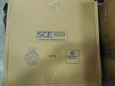 Sce-24p24 White Powder Coated Subpanels Bent21x21x1