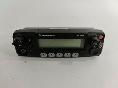 Motorola Xtl 2500 P25 Mobile Radio Control Head Only M21urm9pw1an