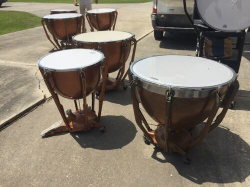 6 Ludwig Timpani Drums In Great Playing ConditionSold Individually