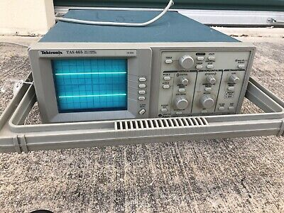Tektronix Tas 465 Analog Oscilloscope 100mhz Min. 2 Channel