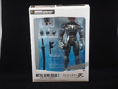 Play Arts Kai Metal Gear Solid 2 Sons of Liberty Raiden (Metal Gear Solid 2 Raiden)