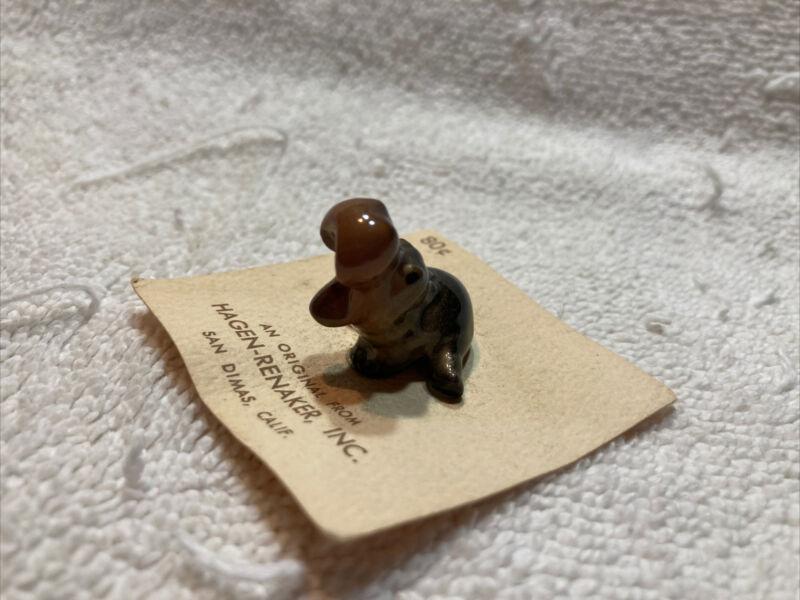 vintage hagen renaker miniatures. Hippo
