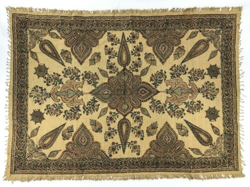 Beautiful Vintage Kalamkari Persian Textile Tablecloth Wall Hanging Scarf