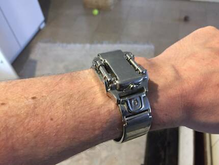 Wrist Watch - Industrial style piston cover