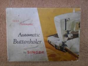 . SINGER MACHINE - BUTTONHOLER - RARE / VINTAGE / COLLECTORS Hoxton Park Liverpool Area Preview
