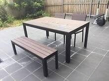 NEAR NEW Outdoor Dining Table Set Harris Park Parramatta Area Preview