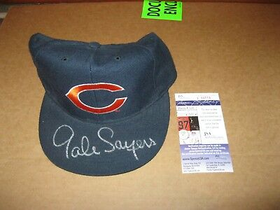 GALE SAYERS Autographed Hat JSA Certified