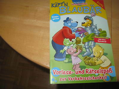Käpt´n Blaubär,Die fantastische Verkehrsfibel,2 Hefte:Kita-Schule-Urlaub neu ()