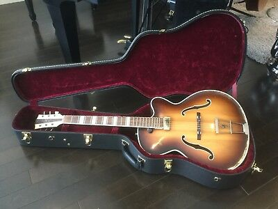 RARE - Hofner Arch Top Guitar.