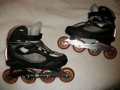 Inline Skate Wheels 76mm 82A  gretzky Outdoor Roller Hockey Rollerblade 8 Pack
