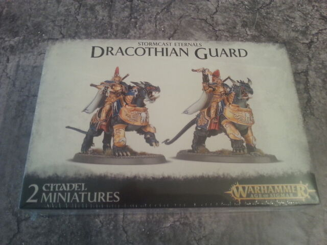 WARHAMMER AGE OF SIGMAR STORMCAST ETERNALS DRACOTHIAN GUARD - NEW & SEALED
