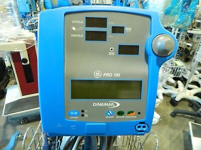 Critikon Dinamap Pro 100 Patient Monitor Nibp Tested