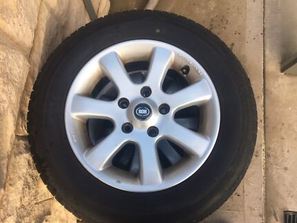 15inch ROH wheels and tyres