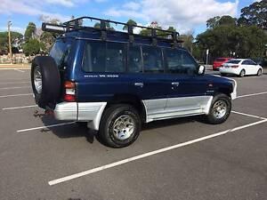 1999 Mitsubishi Pajero Wagon Campbelltown Campbelltown Area Preview