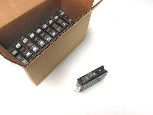 Square D 20A, 1P Circuit Breakers 65k Cat# QHB120 ( Box of 10) Blk Face.. UA-603