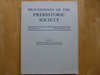 Proceedings Of The Prehistoric Society 1974