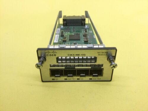 CISCO C3KX-NM-10G CATALYST 3K X 10G NETWORK MODULE FOR 3560X AND 3750X
