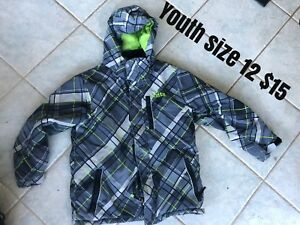 Size 12 youth winter jacket