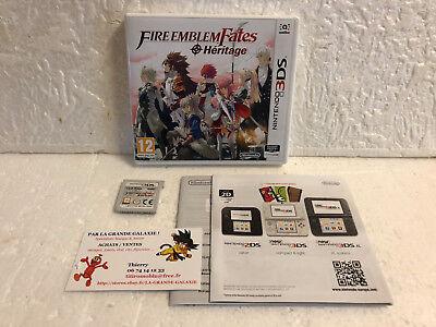 Jeu Vidéo Nintendo 3DS/2DS Fire Emblem Fates Heritage Tactical RPG Complet VF