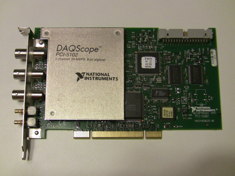 National Instruments PCI-5102 Digitizer Card, NI DAQ Scope
