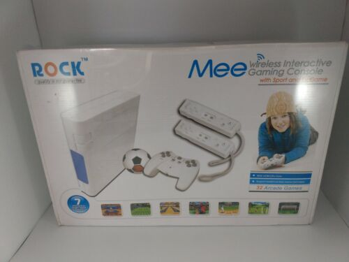 New in box Rock Mee Gaming Console with 32 Games ROCK-MEE