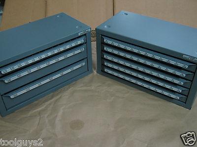 Huot Drill Bit Dispenser Organizer Cabinet 13000 13025 Fracational Number