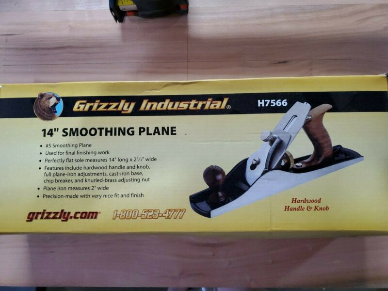"Grizzly H7566 14"" Smoothing Plane"