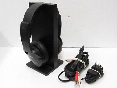 Sony Wireless Headphones w/ Charging Stand - Black MDR-RF985R