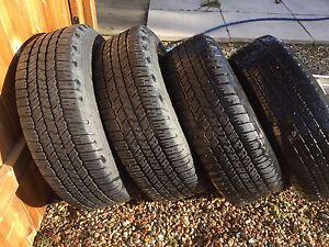 P265/65R18 Goodyear Wrangler SR-A Tires
