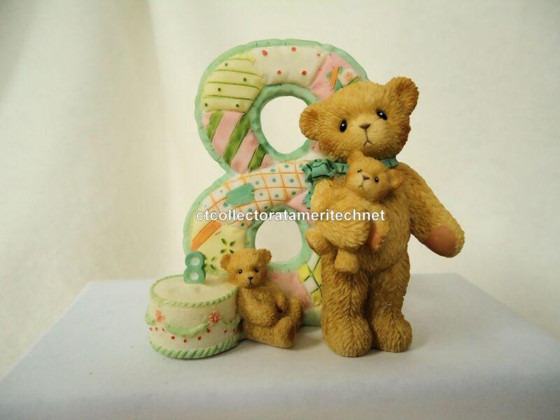 Cherished Teddies Teddies To Cherish Number Age 8 2004 NEW