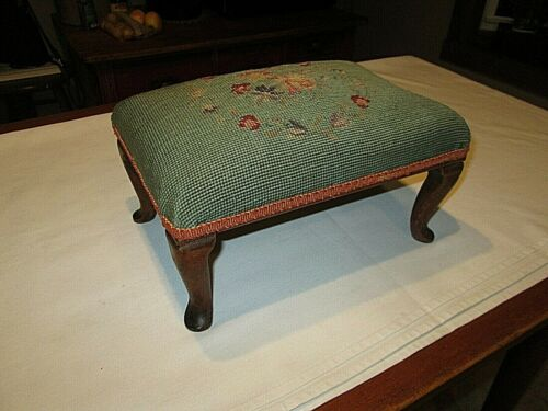 Vintage Victorian footstool / cricket  WOW