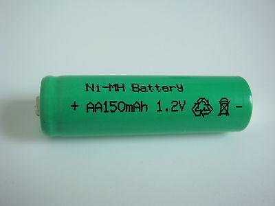 Akku Mignon AA Ni-MH 150mAh 1,2V für SOLAR-Leuchten Lampen LED Lichterketten  Aa Solar Akku
