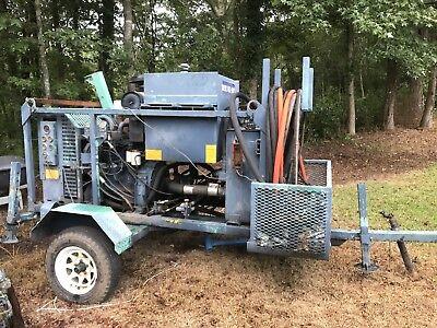Portable Diesel Hydraulic Pump With Hydraulic Reel