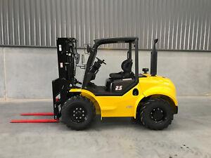 2.5T Compact Rough Terrain Forklift Acacia Ridge Brisbane South West Preview