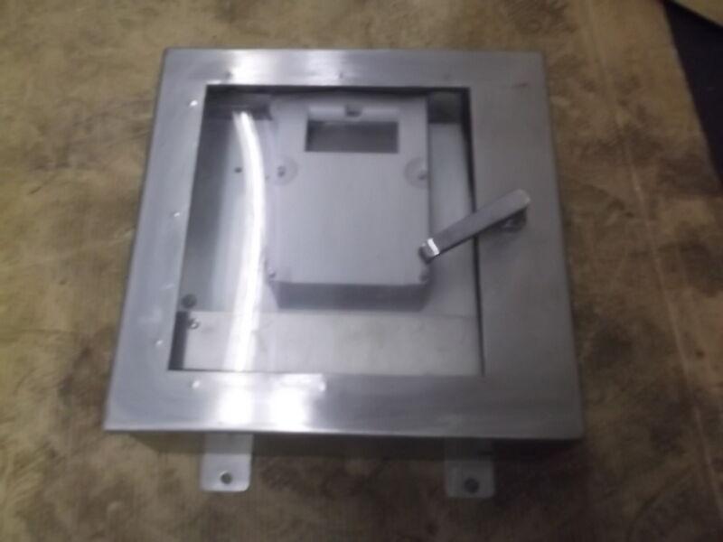 J & A Industrial Control Panel Enclosure w/ Milltronics Multiranger E-139448