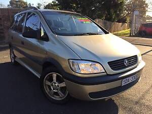 2002 Holden Zafira Wagon Heidelberg Heights Banyule Area Preview