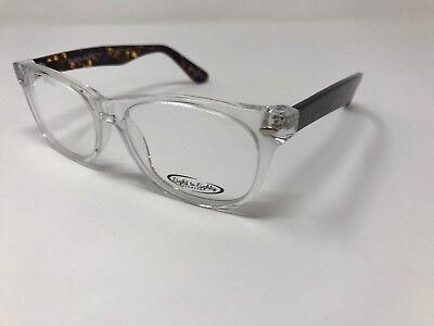 Eight To Eighty Eyewear Crystal Havana Parker 54-17-145 Demo Lens Z440