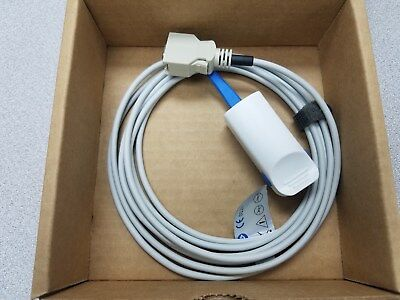 Usa Seller Caretech Masimo Lnop Dcsc Reusable Adult Spo2 Probe 1396 Nellcor