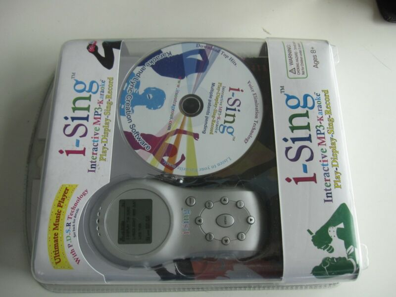 Outrageous I-Sing Ultimate Music Player Interactive MP3 Karaoke New